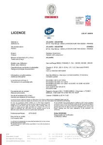 PANAMA ACCESS Certificat NF