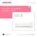 KAZENDO CONFORT PLUS notice installation et utilisation UI 1U 009 012 018 JD ATLANTIC