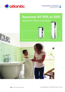 Fiche produit Aquacosy AV 100 L et 200 L