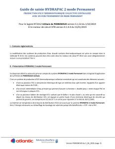 HYDRAPAC 2 permanent - Guide de saisie PERRENOUD Juin 2020