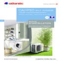 CALYPSO Connecte Split Notice installation Atlantic