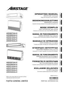 GAINABLES COMPACTS ARXD notice utilisation ARXD 07 09 12 14 18 GALH ATLANTIC
