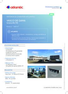 FICHE REFERENCE CHANTIER VASCO DE GAMA ATLANTIC