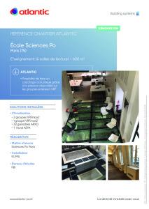 Fiche référence chantier Sciences Po Paris