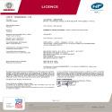 Certificat NF 2012