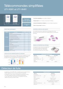 TELECOMMANDES SIMPLIFIEES fiche prescription ATLANTIC