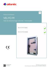 Notice Installation VELYO M 00U06680310c10-02-20