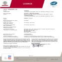Certificat NF Calissia Horizontal