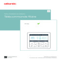 TELECOMMANDE FILAIRE notice installation et utilisation YR-E16A ATLANTIC