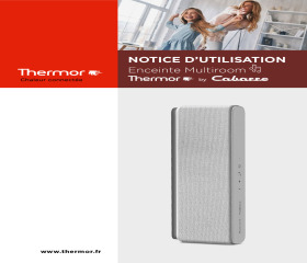 Notice utilisateur Enceinte Thermor by Cabasse