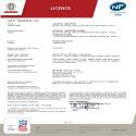 Certificat NF Solius Digital Horizontal