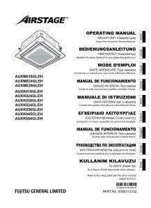 CASSETTES 800 X 800 notice utilisation AUXM/K 18 à 54 GLEH ATLANTIC