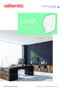 BOUCHE LINE 4 documentation commerciale ATLANTIC