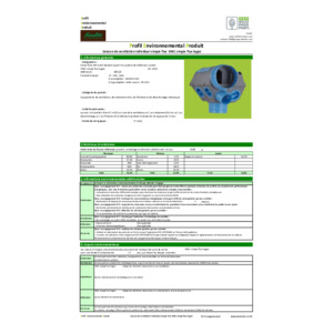 Fiche PEP ecopassport® VMC simple flux Hygro