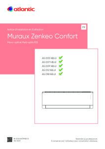 ZENKEO CONFORT R32 notice installation/utilisation 005 007 009 012 018 ATLANTIC
