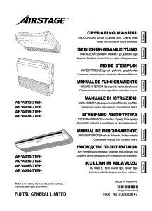 Notice d'utilisation ABYA 12 à 54 GTEH