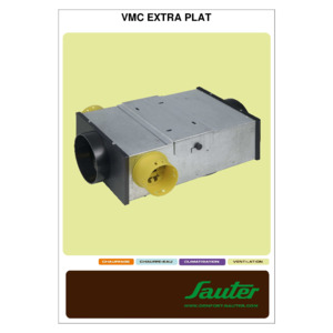 notice VMC simple flux classic extra-plat