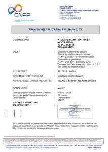 VELYO M conduit collectif PV MECANIQUE ATLANTIC