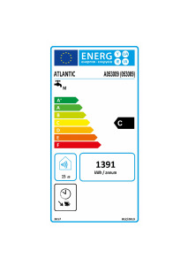 CHAUFFEO PLUS VM Etiquette energetique 053009 Atlantic