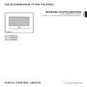 Notice d'utilisation Télécommande UTY-RNRYZ3