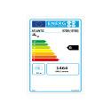 Lineo Connecté Plat Gris Alu 80L Étiquette Énergétique