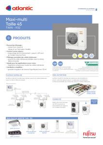 MAXI-MULTI UE 10 à 14 KW (TWIN ET TRIPLE) fiche produit TAILLE 45 ATLANTIC