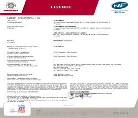 Licence NF Equateur 4 Plinthe