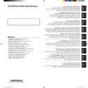 Notice d'utilisation Takao M3 - ASYG 7-9-12-14 KGTB