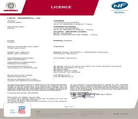 Licence NF Equateur 4 Horizontal