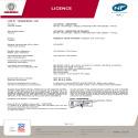 SENSIUM Certificat NF