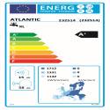 CALYPSO SPLIT INVERTER 270L Etiquette énergétique