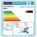 CALYPSO Connecte Split Etiquette energetique 232514 Atlantic