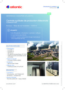 FICHE REFERENCE CENTRAL NUCLEAIRE CATTENOM ATLANTIC