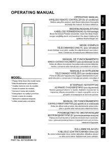 TELECOMMANDE FILAIRE notice utilisation UTY-LNTY ATLANTIC