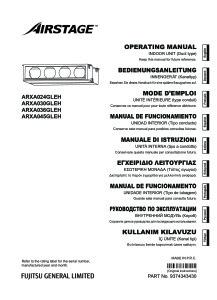 GAINABLE MOYENNE PRESSION ARXA notice utilisation ARXA 24-30-36-45 GLEH ATLANTIC